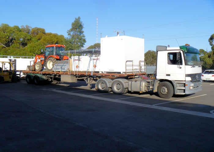 Maglok Magazines Transport and Installation