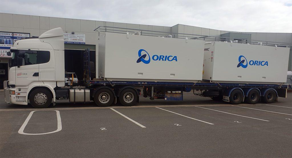 Orica-Magazines-Transport